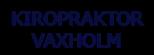 logotyp-kiropraktor-vaxholm